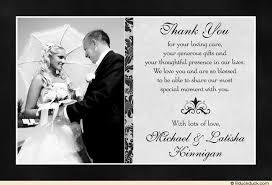 thank you cards wedding classic photo wedding thank you cards image thank you