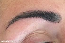 semi permanent makeup eyebrow