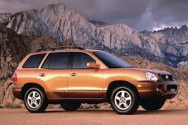 2001 hyundai santa fe owners manual 2001 06 hyundai santa fe consumer guide auto