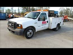 Ford F350 Service Truck - 2005 ford f350 xl super duty service truck for sale sold at