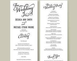 christian wedding reception program sample tbrb info