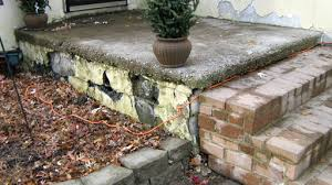 How To Resurface Concrete Patio Concrete Resurfacing For Old Porch