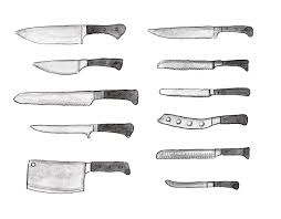 basic kitchen knives different types of knives an illustrated guide