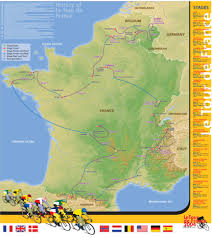 Map Of Tour De France by Travel And Adventure Samples Maps Com Solutions