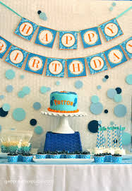 how to decorate birthday table bubble birthday party creative juice