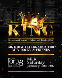 all black sat 01 14 king the annual all black affair stage 48 nyc get