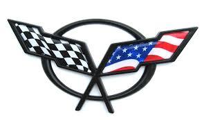 c3 corvette flags c5 flag emblem inserts quality gel inserts