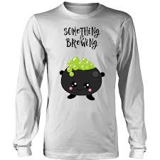 Funny Pregnancy Halloween Shirts Something Is Brewing Funny Pregnant Halloween Shirt U2013 Bornmay Com