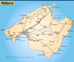 Majorca Spain Map by Pedalling To Paradise In Majorca Independent Ie