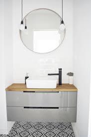 bathroom round mirror black bathroom mirror bathroom design and shower ideas