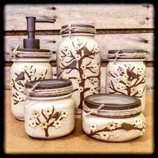 mason jar bathroom and desk sets u2013 americanagloriana