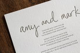 wedding invitations melbourne real letterpress wedding invitations simplethings