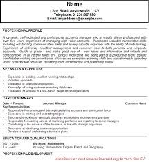 Transferable Skills Resume Sample by Cv Personal Profile Sales Assistant Create Professional Resumes