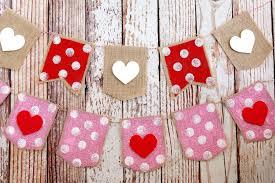valentines banner s day heart banner eighteen25