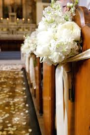 pew decorations for weddings wedding church decoration creative church wedding