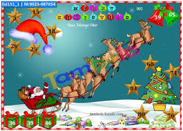 kitty party tambola housie winter christmas u0026 new year tambola