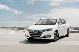 2014 honda accord plugin driver front three quarters photo