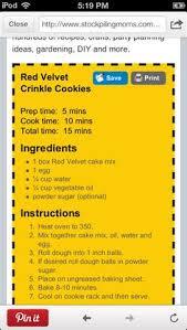 red velvet crinkle cookies red velvet crinkle cookies red