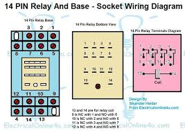 14 pin relay wiring diagram finder relay wiring connection
