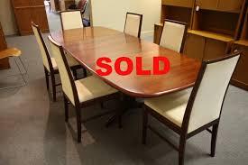 danish rosewood dining table gudme mobelfabrik 102