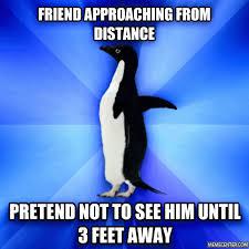 Socially Awkward Penguin Memes - socially awkward penguin by shadowx meme center