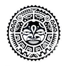 polynesian tribal mask designs tattooic