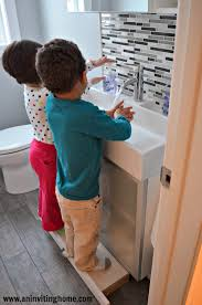 Kids Bathroom Vanities Remodelaholic Modern Bathroom Update