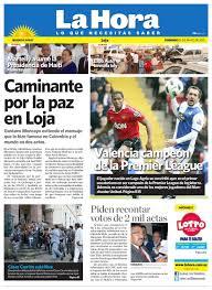 Movimientos Encadenados Mayo 2011 - diario la hora loja 15 de mayo 2011 by diario la hora ecuador issuu