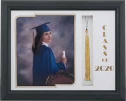 graduation tassel frame levin picture frames 321 black satin graduate tassel frame with a