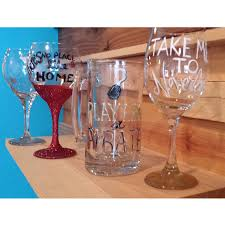 wine glass painting cyan art studios u201conce upon a time u201d wine glass painting u2013 create