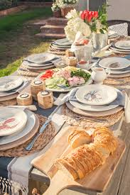 tablescapes backyard bbq home outdoor decoration