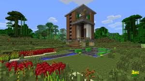 house designs minecraft modern minecraft house design jungle house with swimming pool