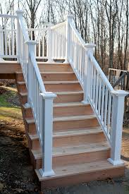 western red cedar deck stairs storrs mansfield ct