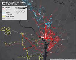 washington dc metrobus map planitmetro late maps and options