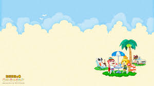 Homedesigner Cute Summer Animal Crossing Happy Home Designer Wallpapers From