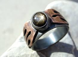 cool mens rings buy a made unique mens ring black sapphire cool mens