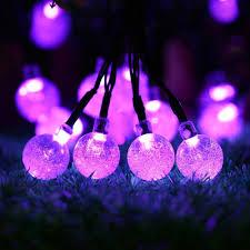halloween light show kits icicle halloween solar string lights 20ft 30 led waterproof