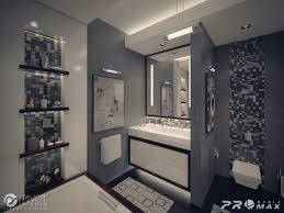 white and gray bathroom home decorating interior design bath
