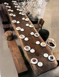Walnut Slab Table by Finishing A Walnut Slab Tabletop