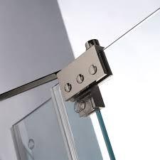 clear glass door vigo vg6042bncl60 60 frameless 3 8 clear glass shower door with