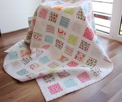 Childrens Twin Comforters Handmade Quilt Twin Quilt Modern Quilt Throw Quilt Bed