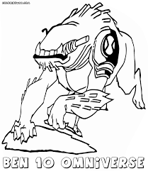 ben 10 omniverse coloring pages coloring pages to download and print
