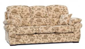 Floral Print Sofas Comfortable Vintage Couch With Flower Pattern And Floral Print