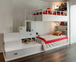 loft bed design bedroom designs all white traditional bedroom with loft bed and