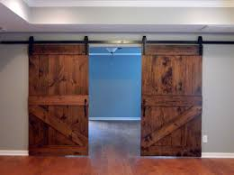 Barn Style Sliding Door by Barn Style Doors Diy Our Bifold Barn Doors Replace Your Laundry