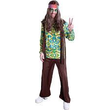 Hippie Halloween Costumes Adults Hippie Men U0027s Halloween Dress Role Play Costume