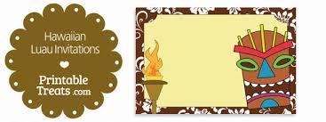 luau invitations printable brown hawaiian luau invitations printable treats