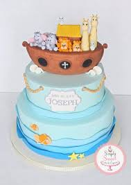 Noah S Ark Decorations Noah U0027s Ark Baptism Cakes U0026 Cake Decorating Daily Inspiration
