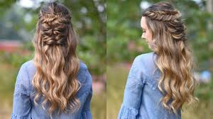 cute haircutes for 47 year olds twisted fishtail holiday hairstyle prom hairstyle cute girls