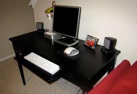 Black Computer Desk Computer Desk Black Star Dreams Homes
